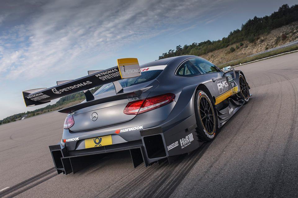 Mercedes-AMG C63 DTM racecar rear