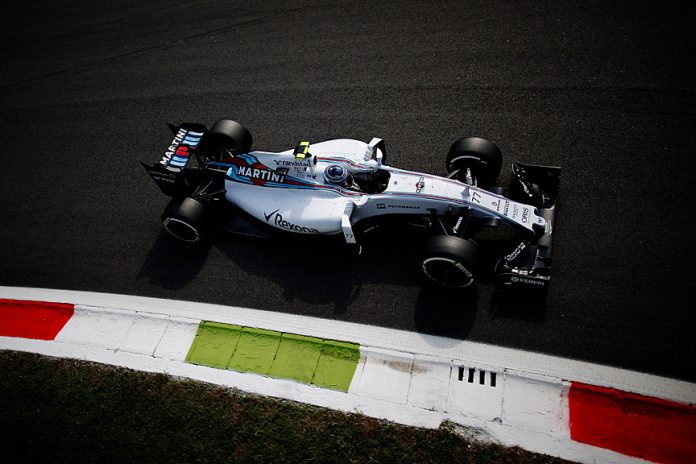 2015 Formula 1 Italian GP Williams F1