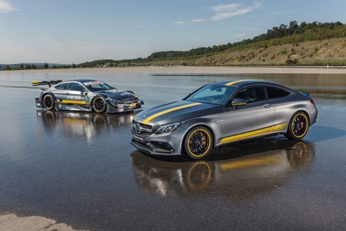 2016 Mercedes-AMG C63 Coupe Edition 1 and C63 DTM