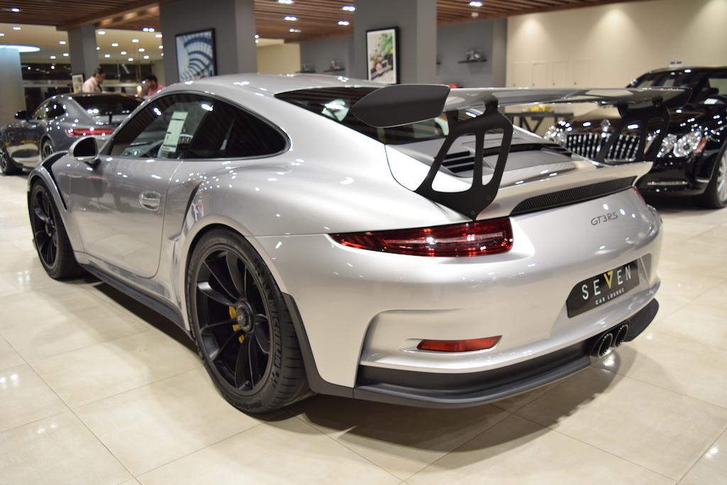 Sleek Silver 2016 Porsche 911 GT3 RS For Sale - GTspirit