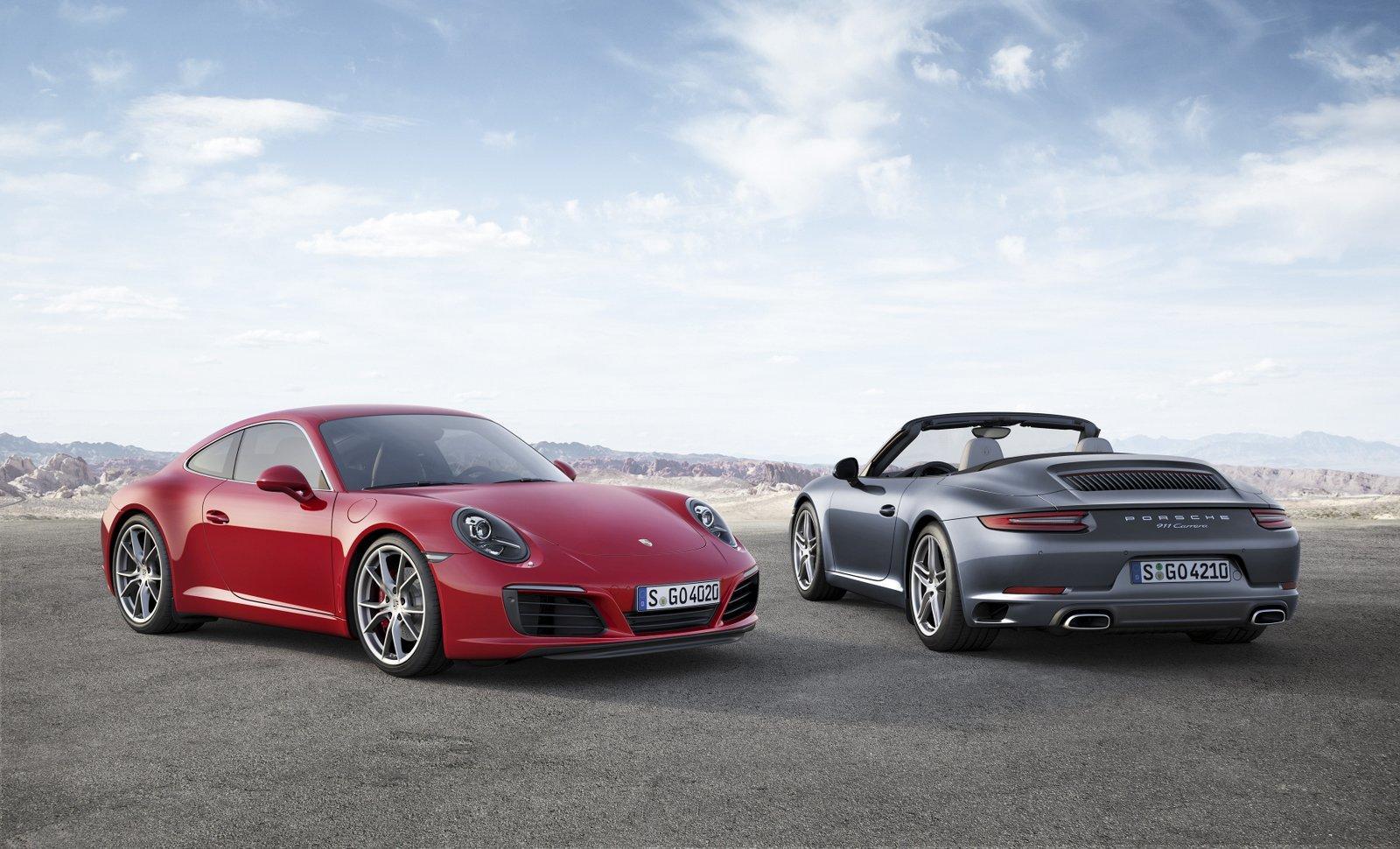 2016 porsche 911 facelift duo
