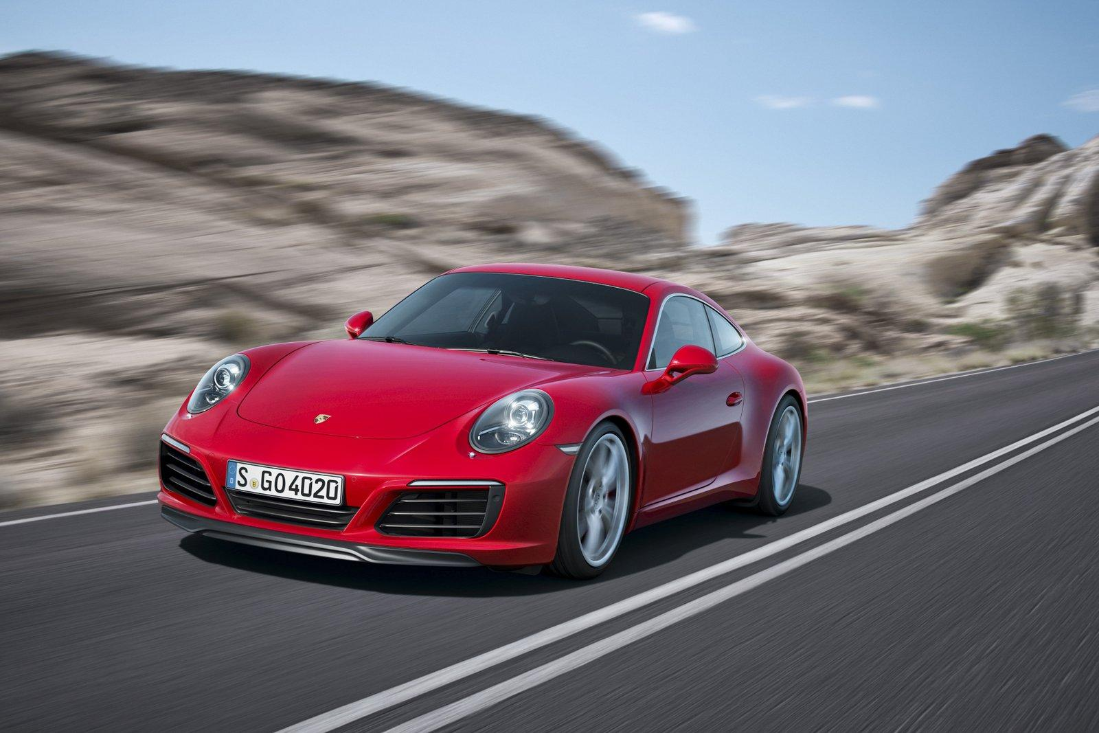 2016 Porsche 911 Carrera And S Hybrid On The Cards