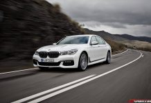 BMW 7-Series at Frankfurt Motor Show 2015