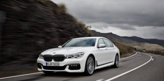 BMW 7-Series at Frankfurt Motor Show 2015