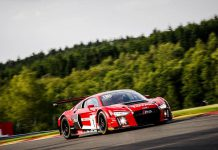 24 Hours of SPA Red Audi R8