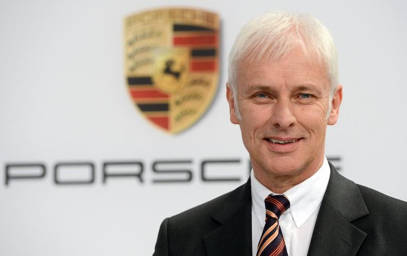 Matthias Muller named Volkswagen Group CEO