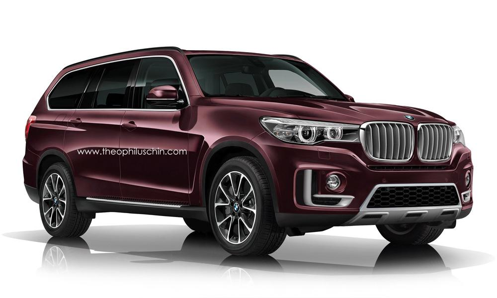Bmw X7 Taking Design Inspiration From Vision Future Luxury Concept