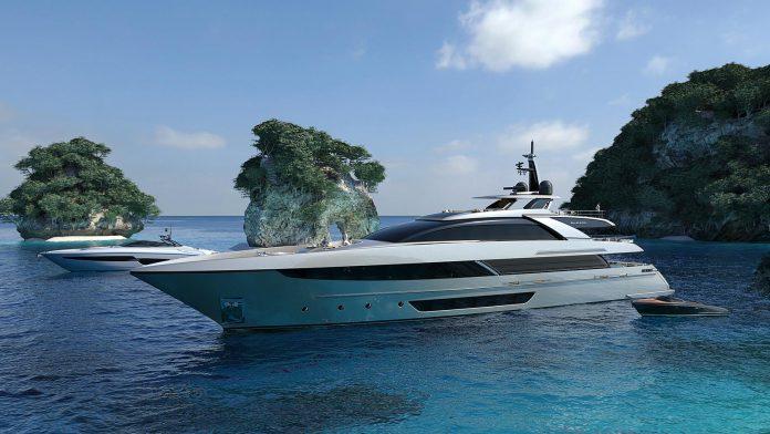 Riva superyacht front