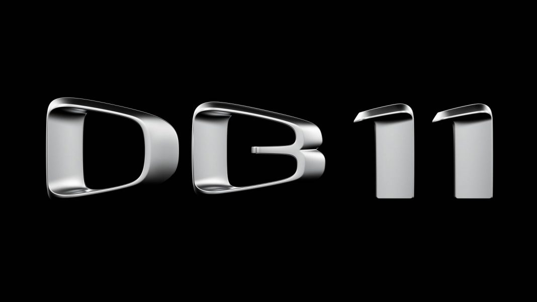 Aston Martin DB11 badge