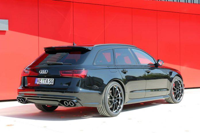 Black ABT Audi A6