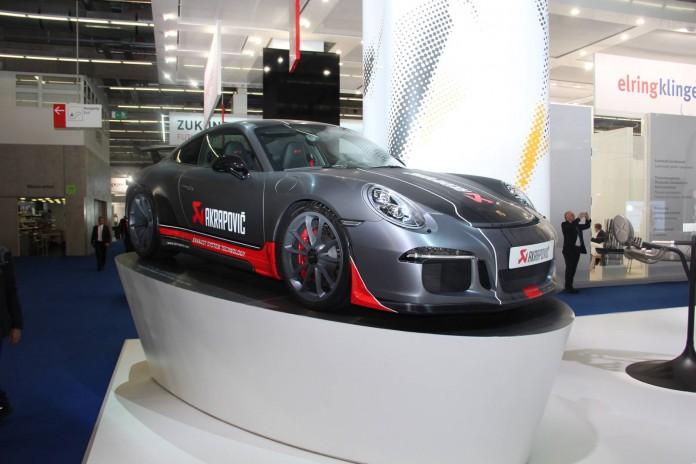 Akrapovic Porsche 911 GT3