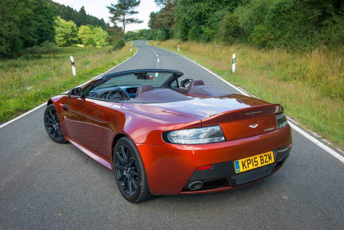 Aston Martin V12 Vantage S Roadster rear view