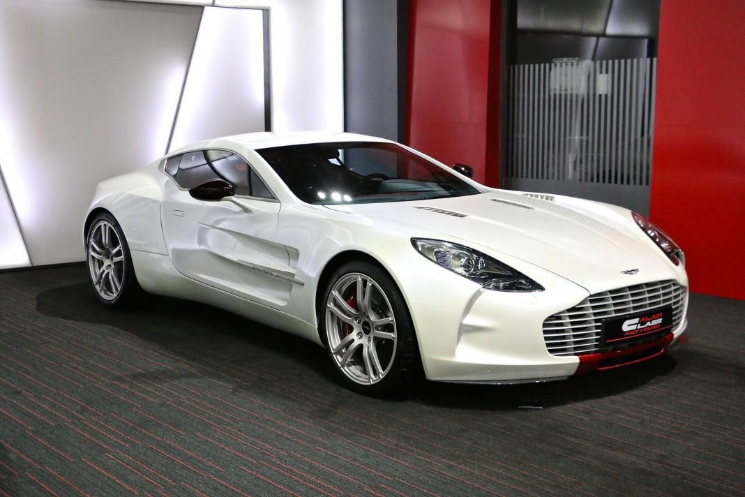 Aston Martin One-77 for sale in Dubai front