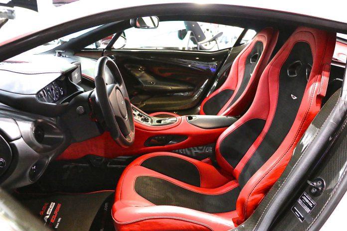 Aston Martin One-77 for sale in Dubai interior