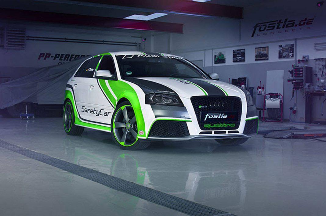 Audi RS3 custom wrap