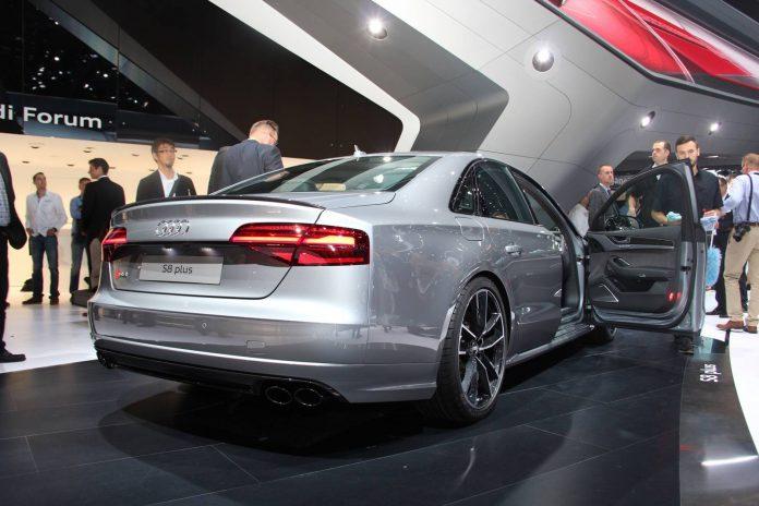 Audi S8 Plus rear