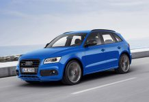 Audi SQ5 TDI plus blue