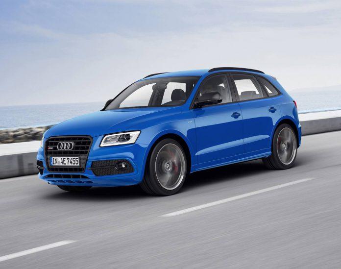 Audi SQ5 TDI plus blue