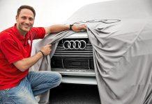 Audi e-tron Quattro Concept teased front