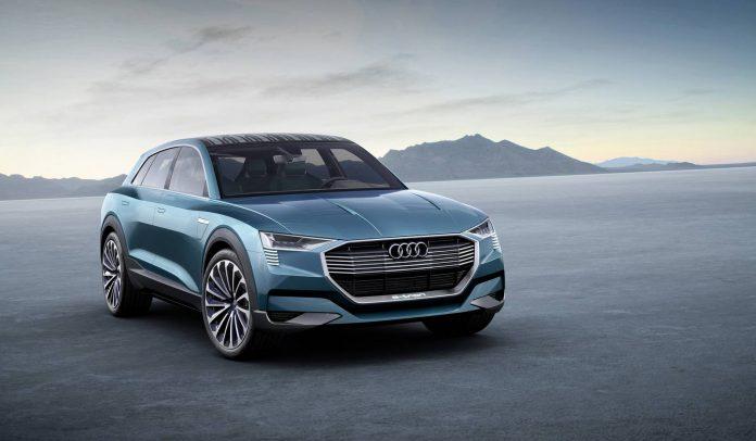 Audi e-tron quattro concept front
