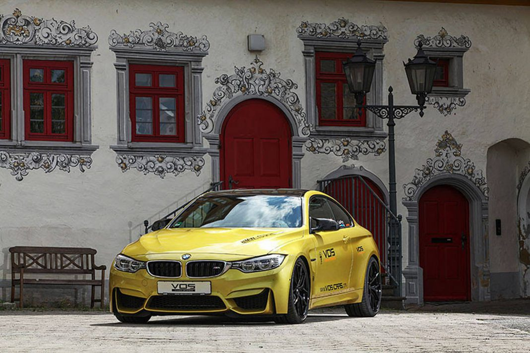 Austin Yellow BMW M4 with BBS Wheels