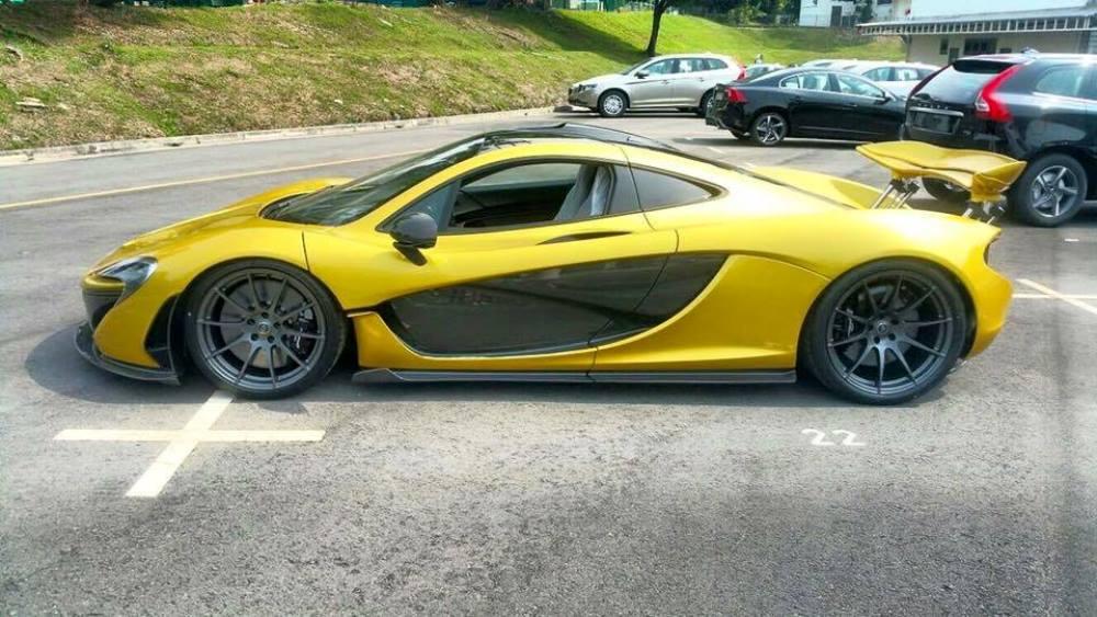 Austin Yellow McLaren P1