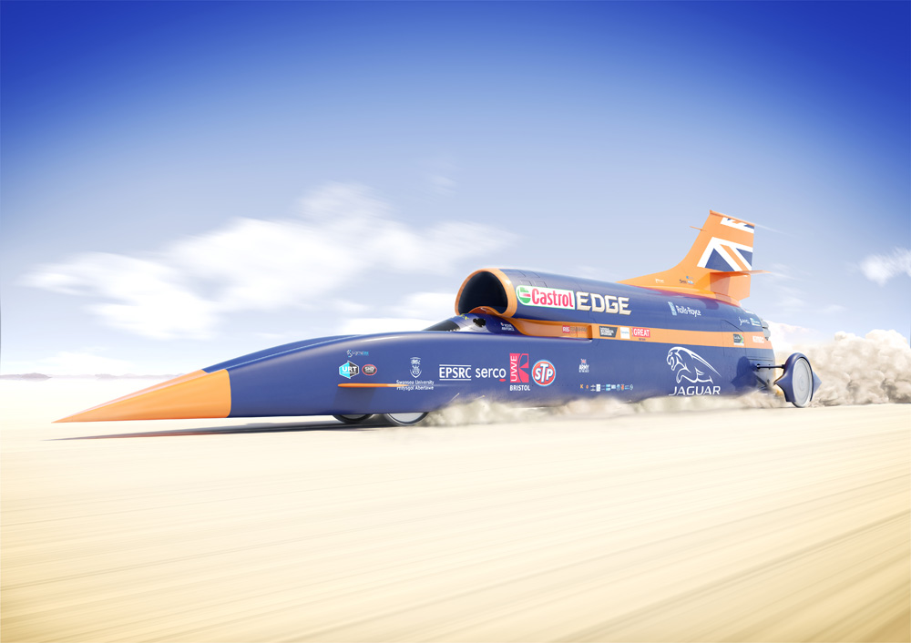 Bloodhound SSC launches in the UK