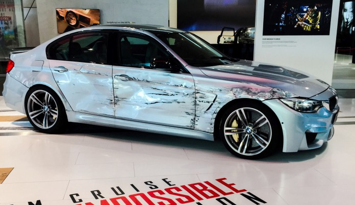 BMW M3 Mission Impossible 5
