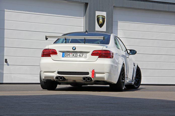 BMW M3 Clubsport rear