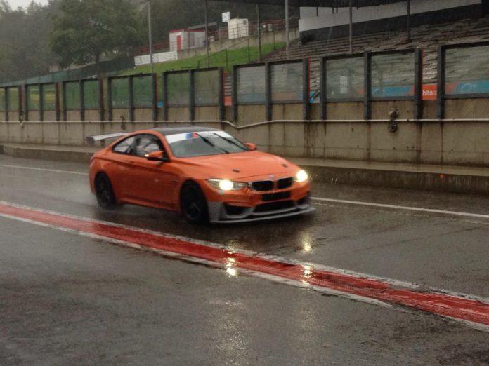 Orange BMW M4 GTS