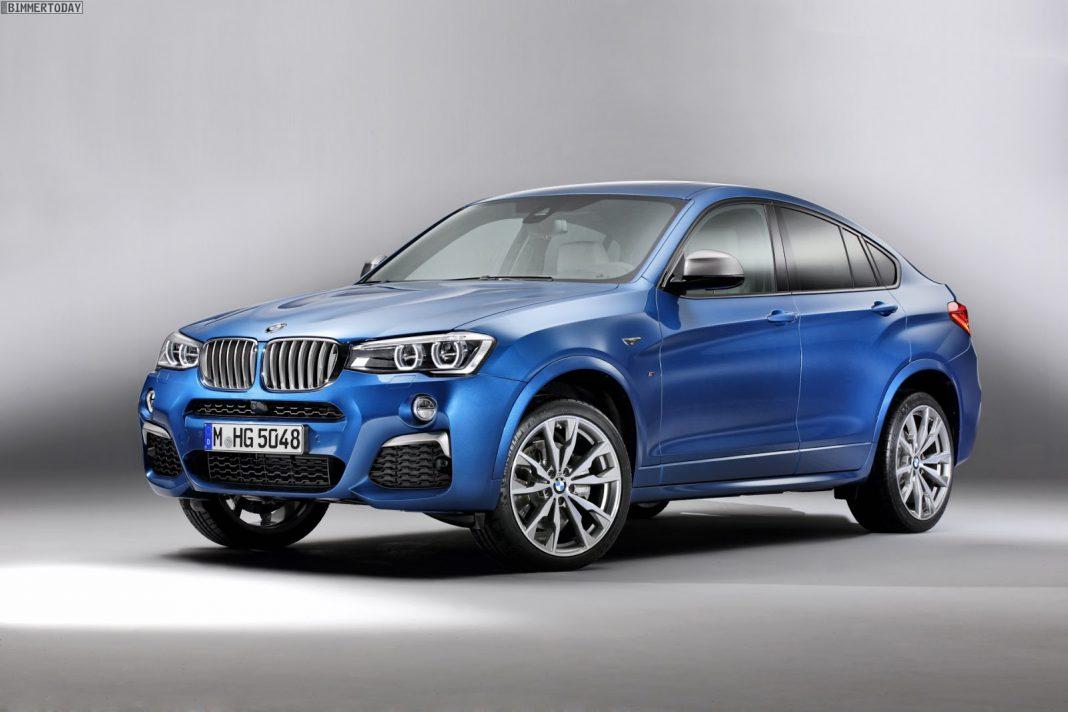 BMW X4 M40i leaks online