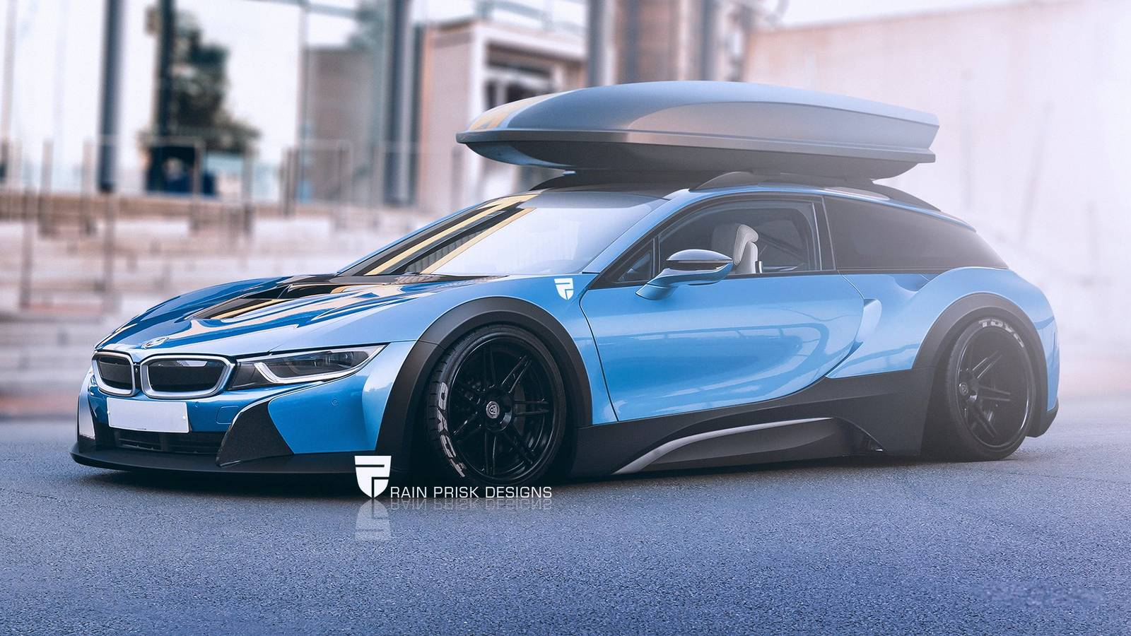 7 Crazy Station Wagon Renders Based On Sports Cars Gtspirit