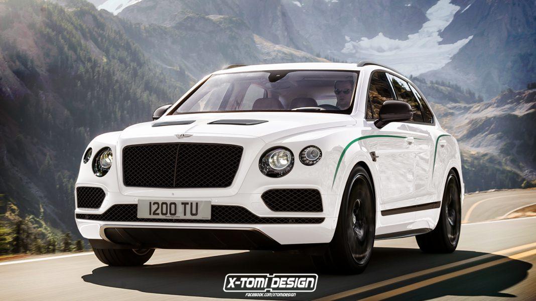 Bentley Bentayga GT3 R rendered