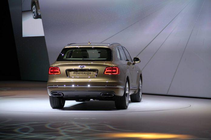 Bentley Bentayga rear