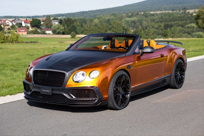 Bentley Continental GTC by Mansory (1)