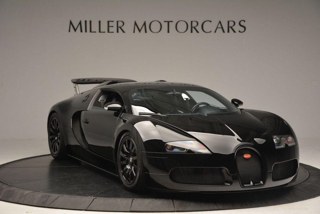 Black Bugatti Veyron for sale in the U.S.