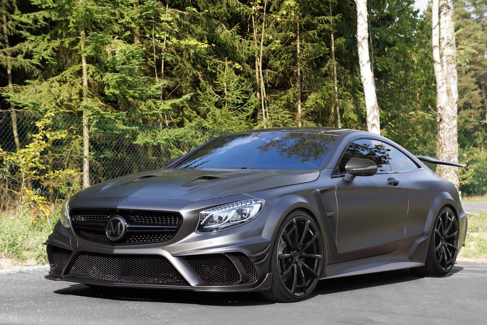 Black On Mercedes S63 Amg Coupe
