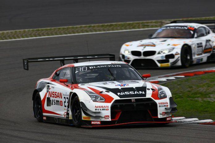 Nissan GT-R GT3 Nismo Blancpain Endurance Series