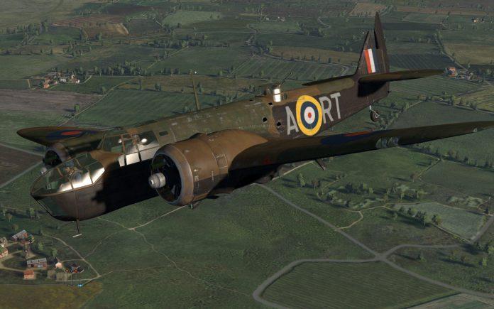 Blenheim Bomber