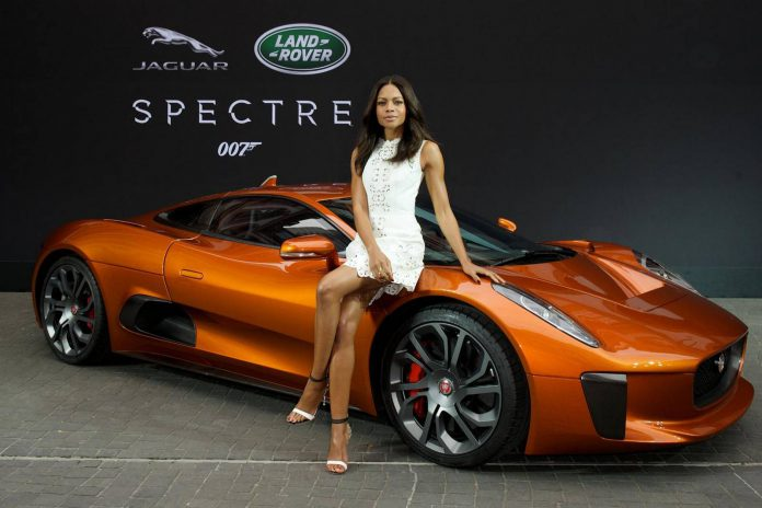 Jaguar C-X75 James Bond
