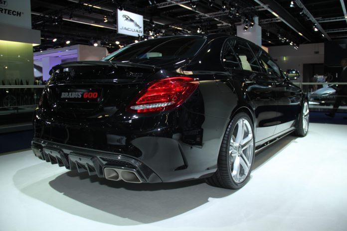 Brabus Mercedes-AMG C63 rear