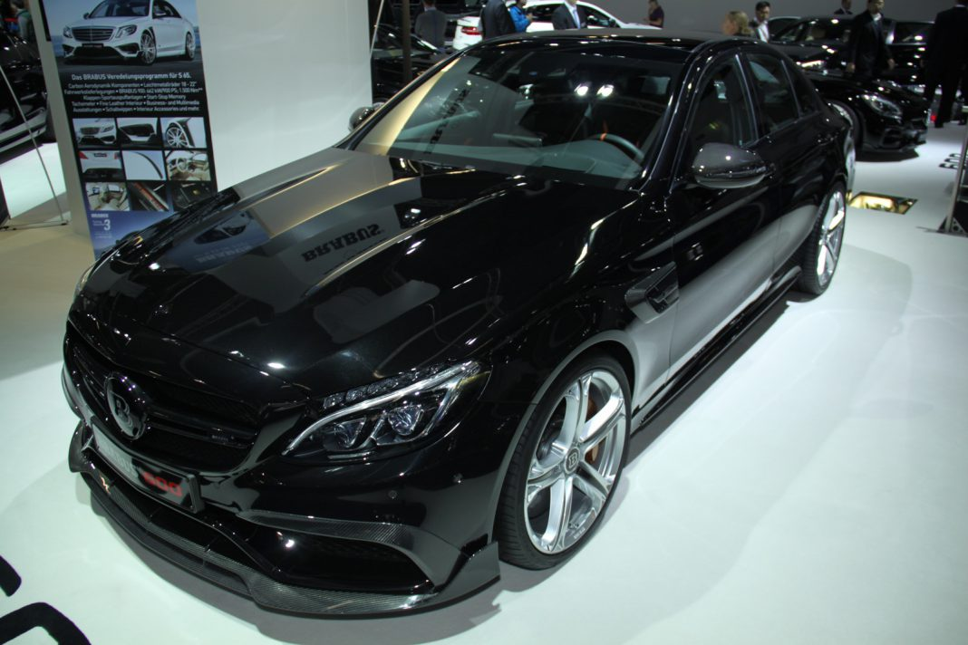 Brabus Mercedes-AMG C63 front