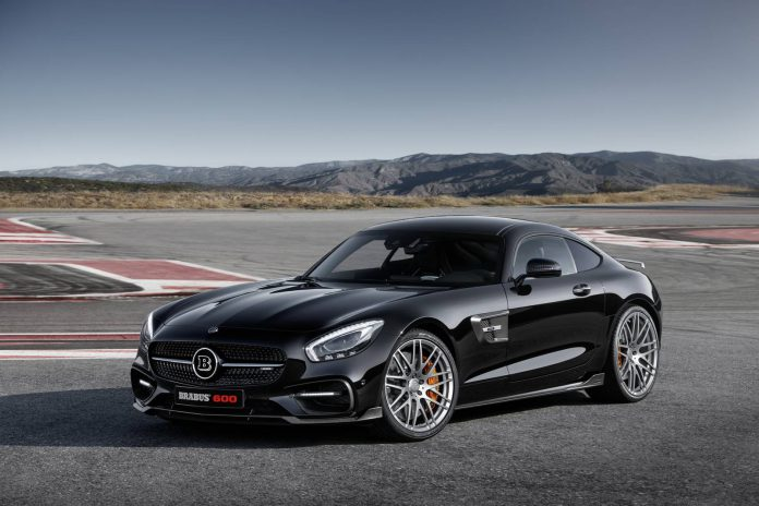 Brabus Mercedes-AMG GT S front