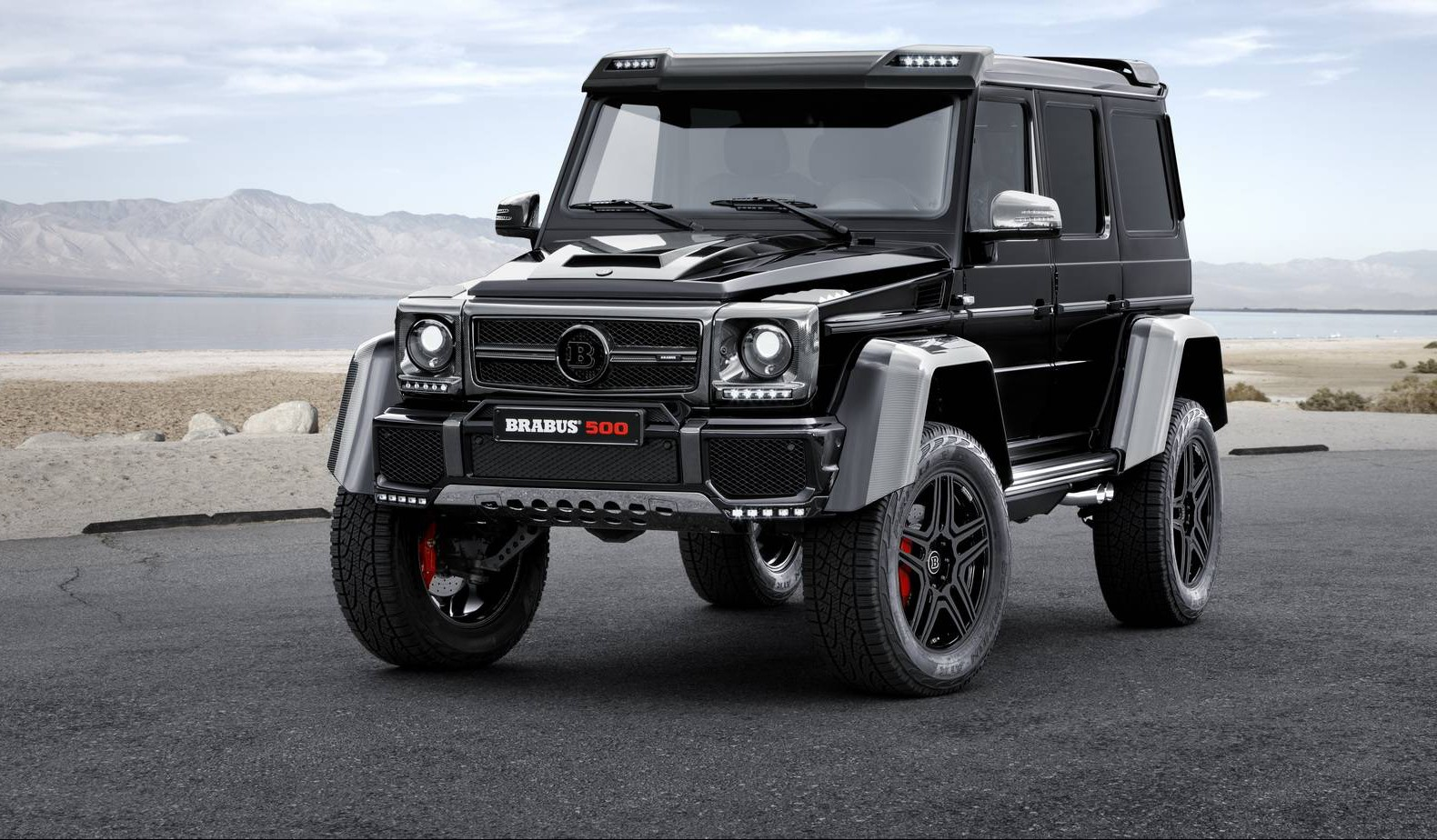 Official brabus mercedes benz g500 4x4 gtspirit for Mercedes benz 4 4