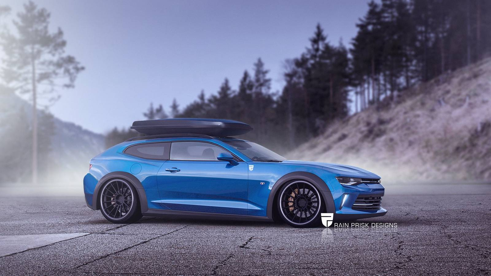 7 Crazy Station Wagon Renders Based on Sports Cars - GTspirit