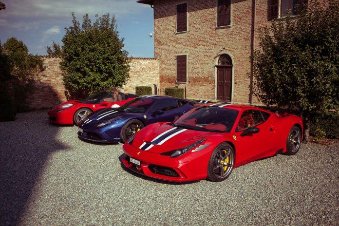 Ferrari 458 lineup