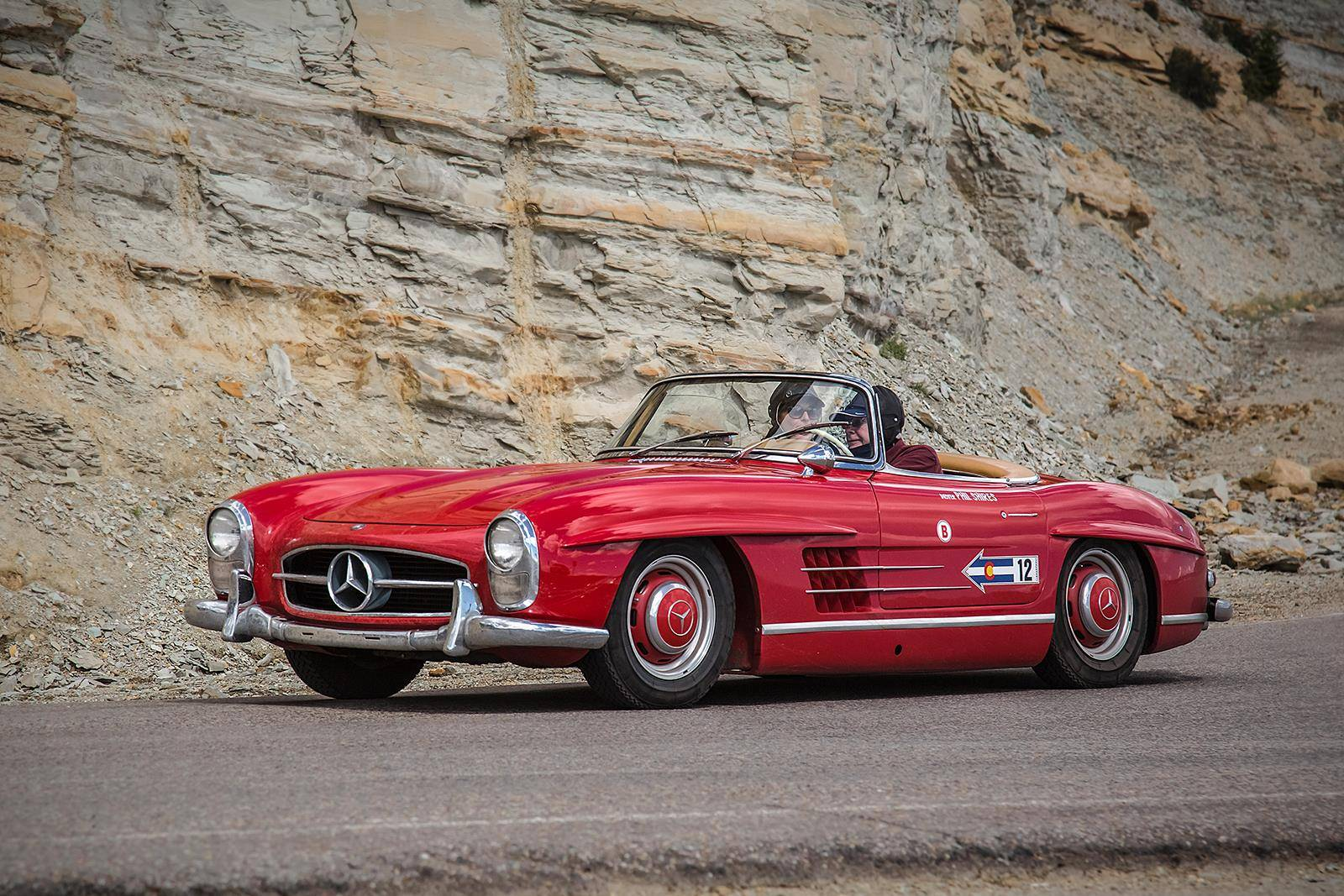 Mercedes benz classics shine at colorado grand 2015 gtspirit for Mercedes benz vintage cars