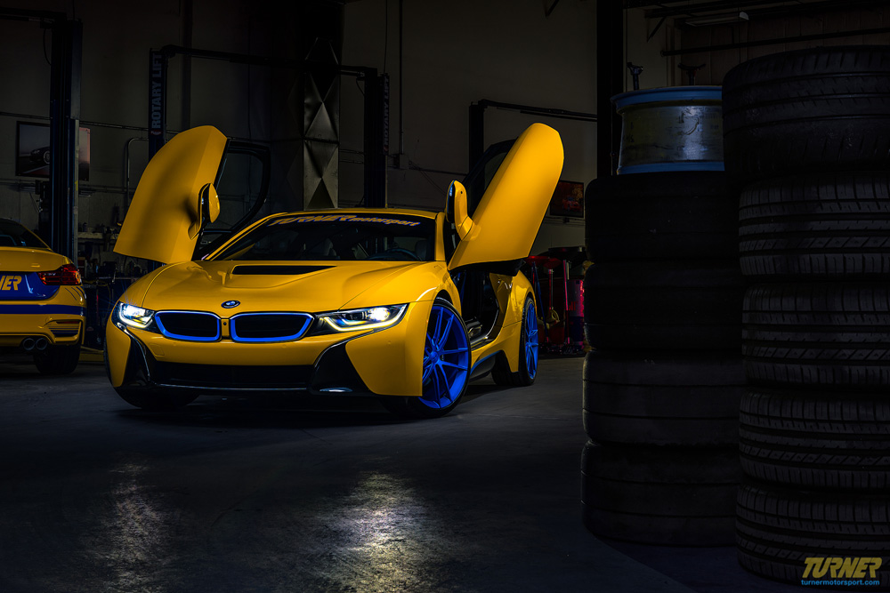 Custom Yellow Bmw I8 By Turner Motorsport For Sale Gtspirit