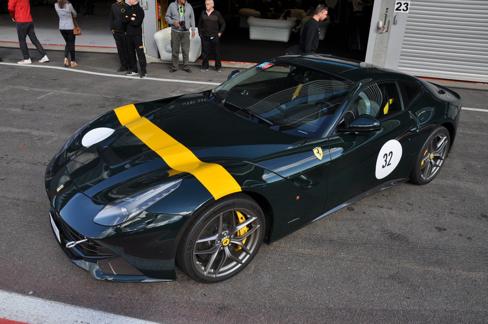 Ferrari At Curbstone Track Events September 2015 Gtspirit