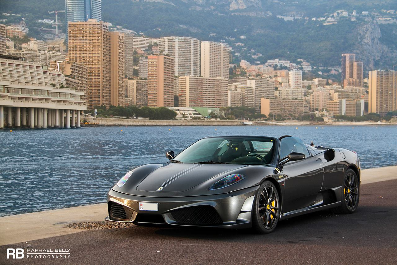 photo of the day ferrari 430 scuderia spider 16m in monaco gtspirit. Black Bedroom Furniture Sets. Home Design Ideas